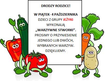 warzywa infro