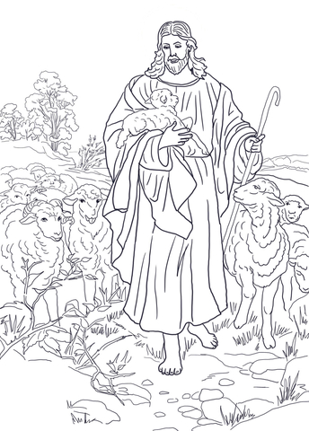 jesus-is-the-good-shepherd-coloring-page