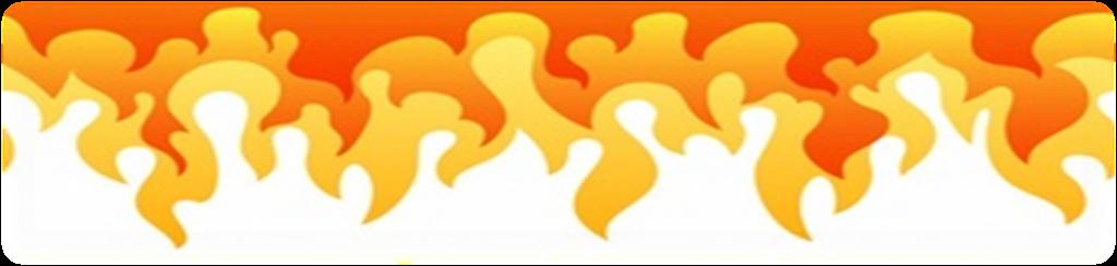 ogień góra