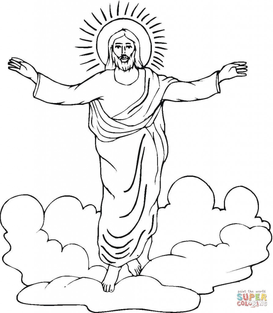 resurrection-of-jesus-coloring-page