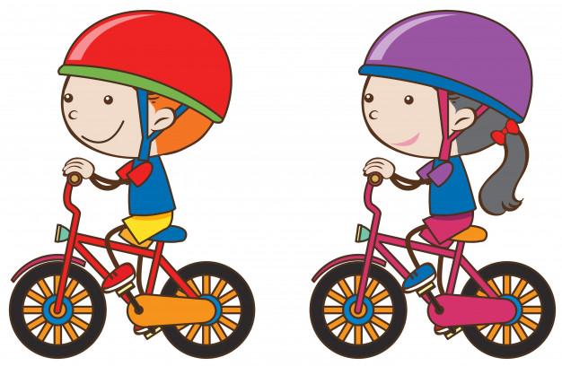 chlopiec-i-dziewczynka-jazda-rowerem_1639-3234